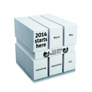 The Cube Calendar By Philip Stroomberg Total