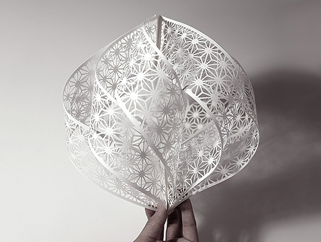 Accumulation Paper Cut Sculptures by Christine Kim