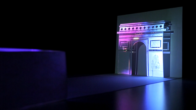 Pop-Up Projection Mapped Greeting Card With Smartphone
