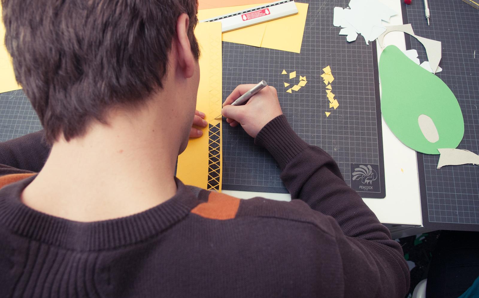 Ink-Studio-2015-Paper-Craft-Wallpaper-In-Progress