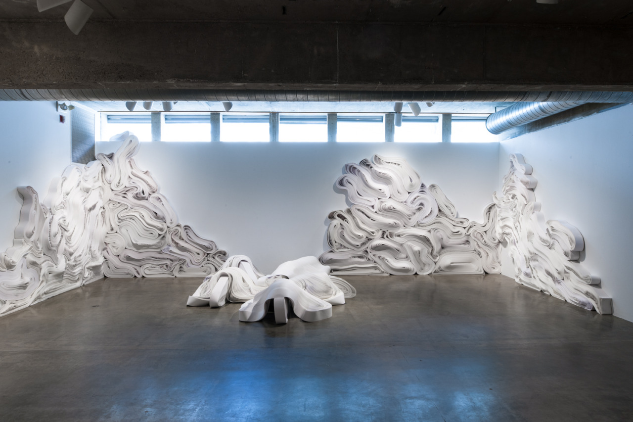 Jae-Ko-Flow-Monumental-Nature-Inspired-Sculptural-Reliefs-from-One-Ton-of-Recycled-Paper-Wide