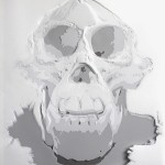Kim_Kyong_The-Skulls-5,-50'x42',-Hand-Cut-Drafting-Film