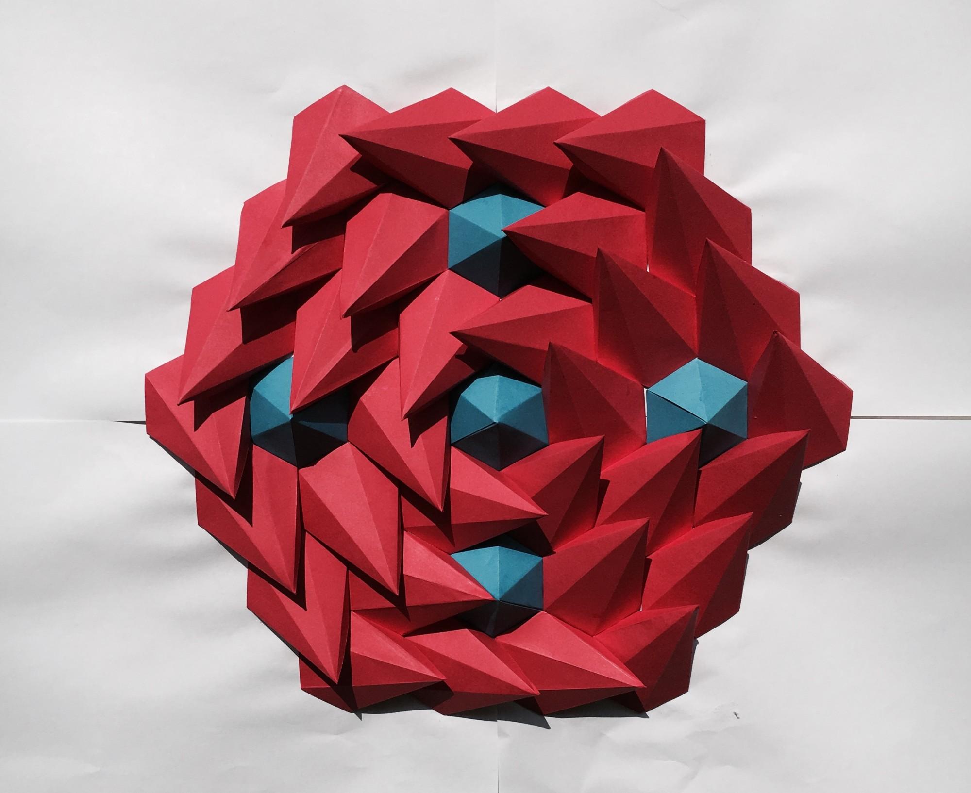 Mathematical Inspired 3D Paper Kaleidoscope Tessellations Brandon Clark