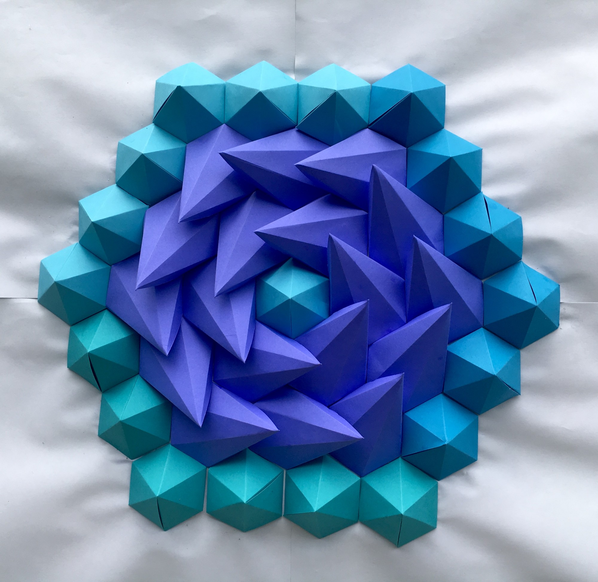 Mathematical Inspired 3D Paper Kaleidoscope Tessellations Brandon Clark