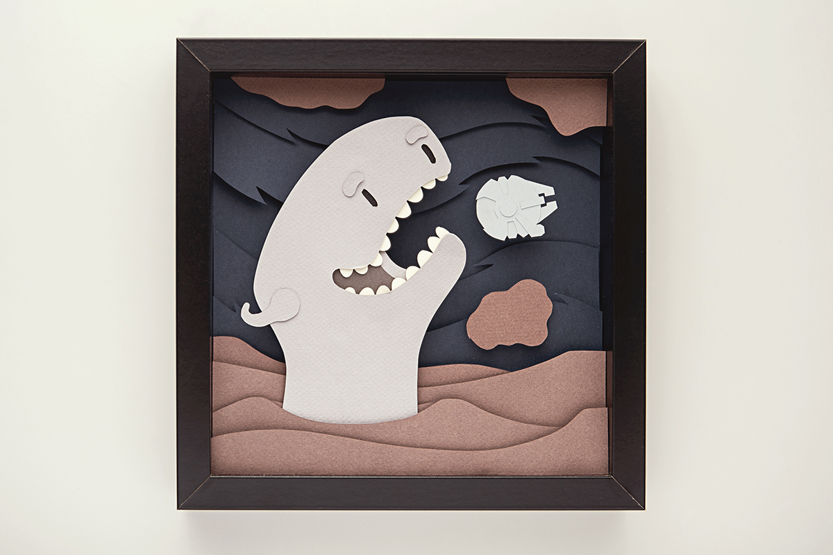 Whimsical Paper Animal Illustrations Vaclav Bicha  Strictlypaper Exogoroth_front