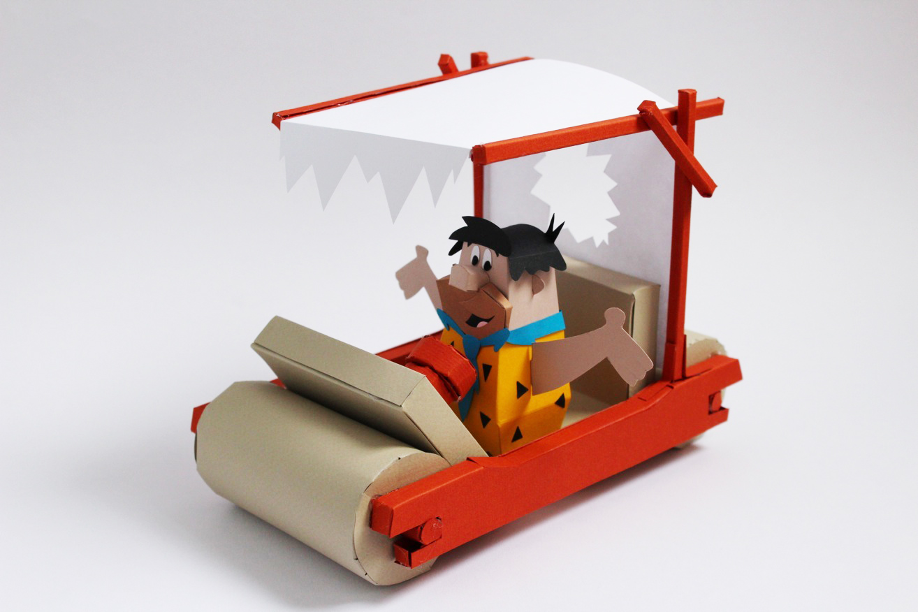 classic paper toys from pop culture by ryan hall strictlypaper classic paper toys from pop culture by ryan hall