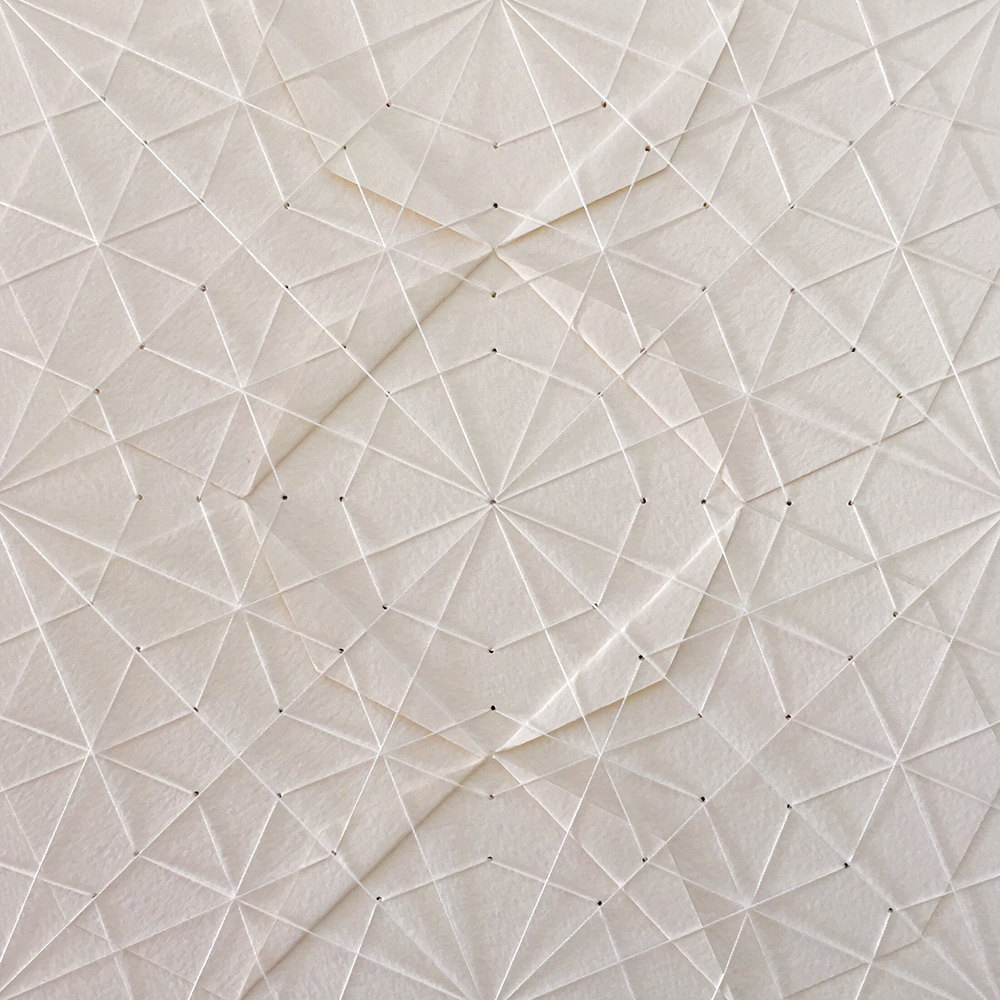 delicate stitched origami patterns by liz sofield strictlypaper