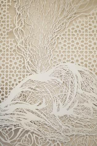 Antonius Bui Exquisitely Intricate Paper Cut Screens