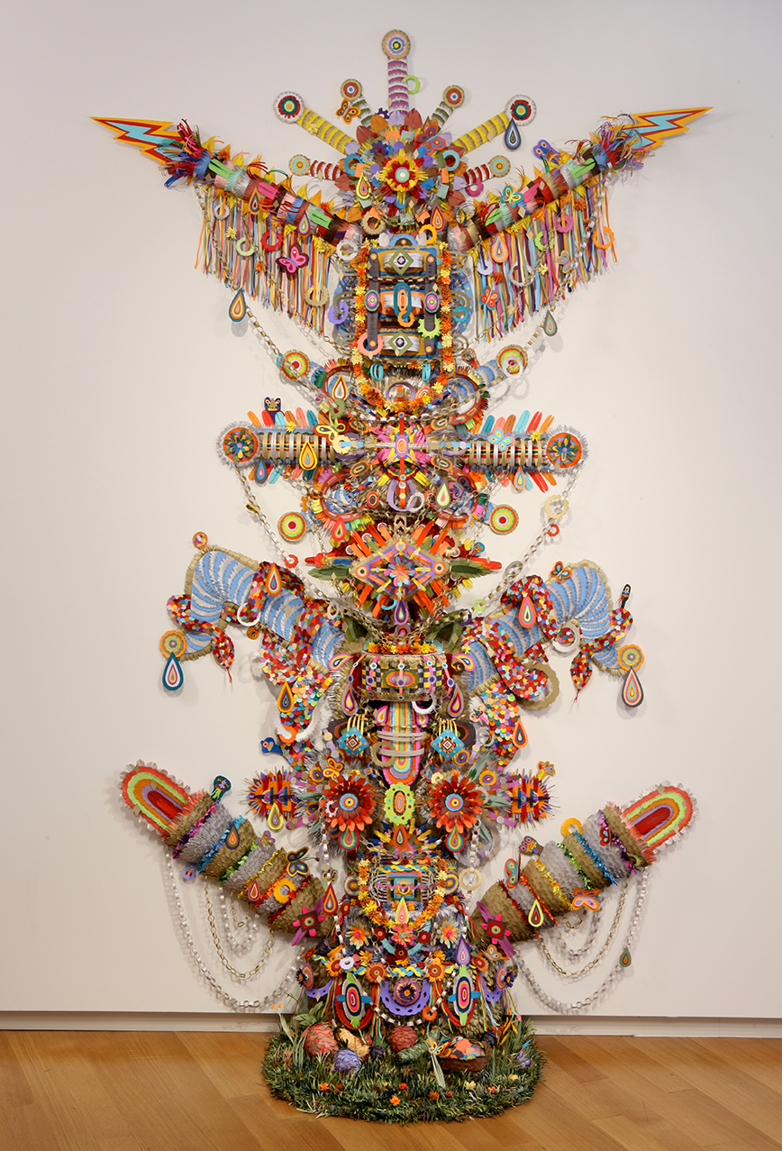 Interview with Vibrant Sculptural Paper Artist Michael Velliquette