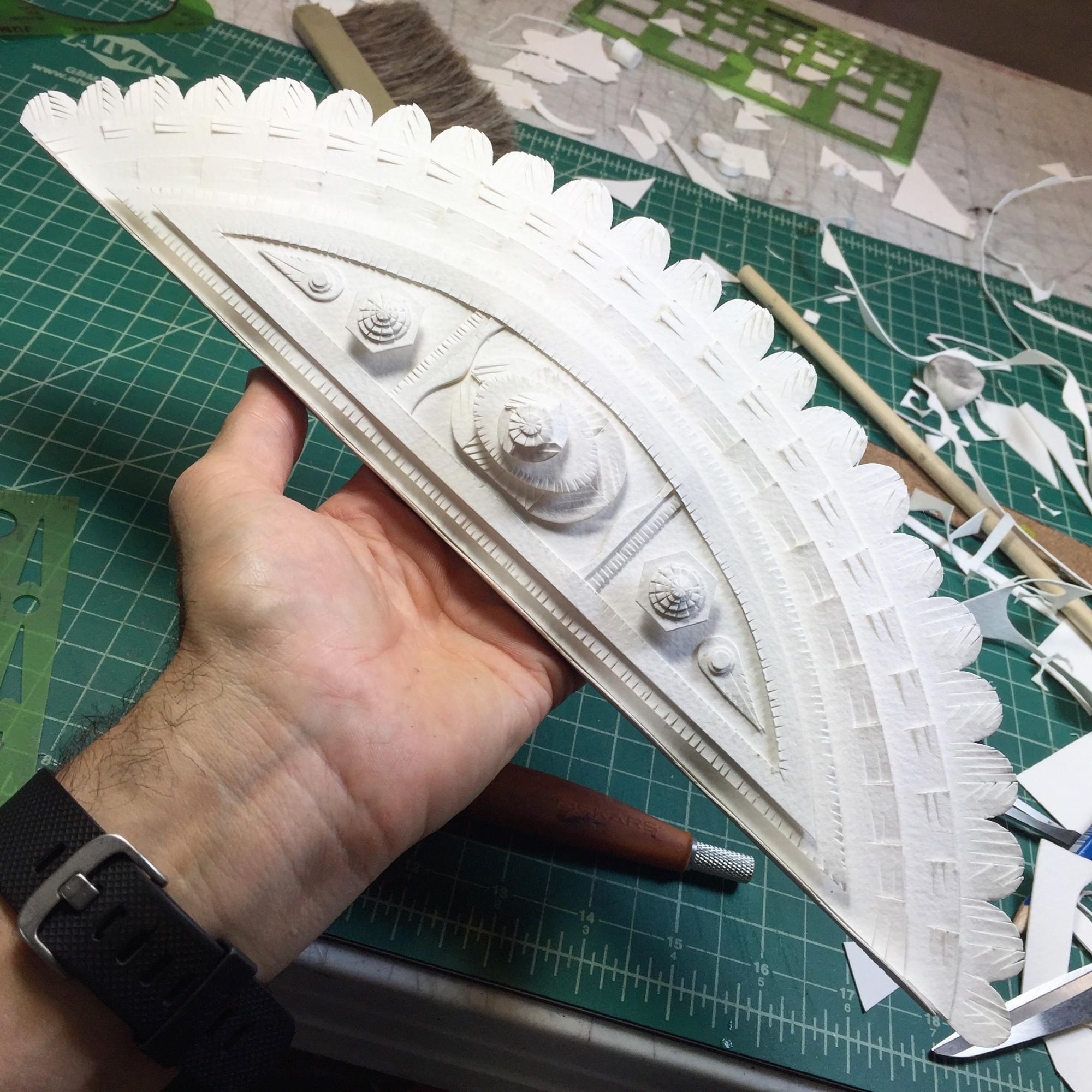 Interview with Vibrant Sculptural Paper Artist Michael Velliquette