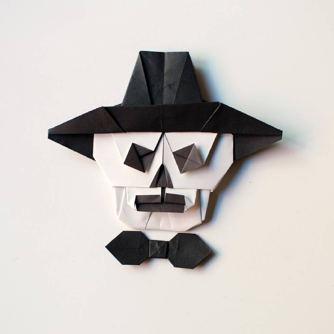 10 Wonderfully Crafted Paper Skulls Just in Time for Halloween - Origami