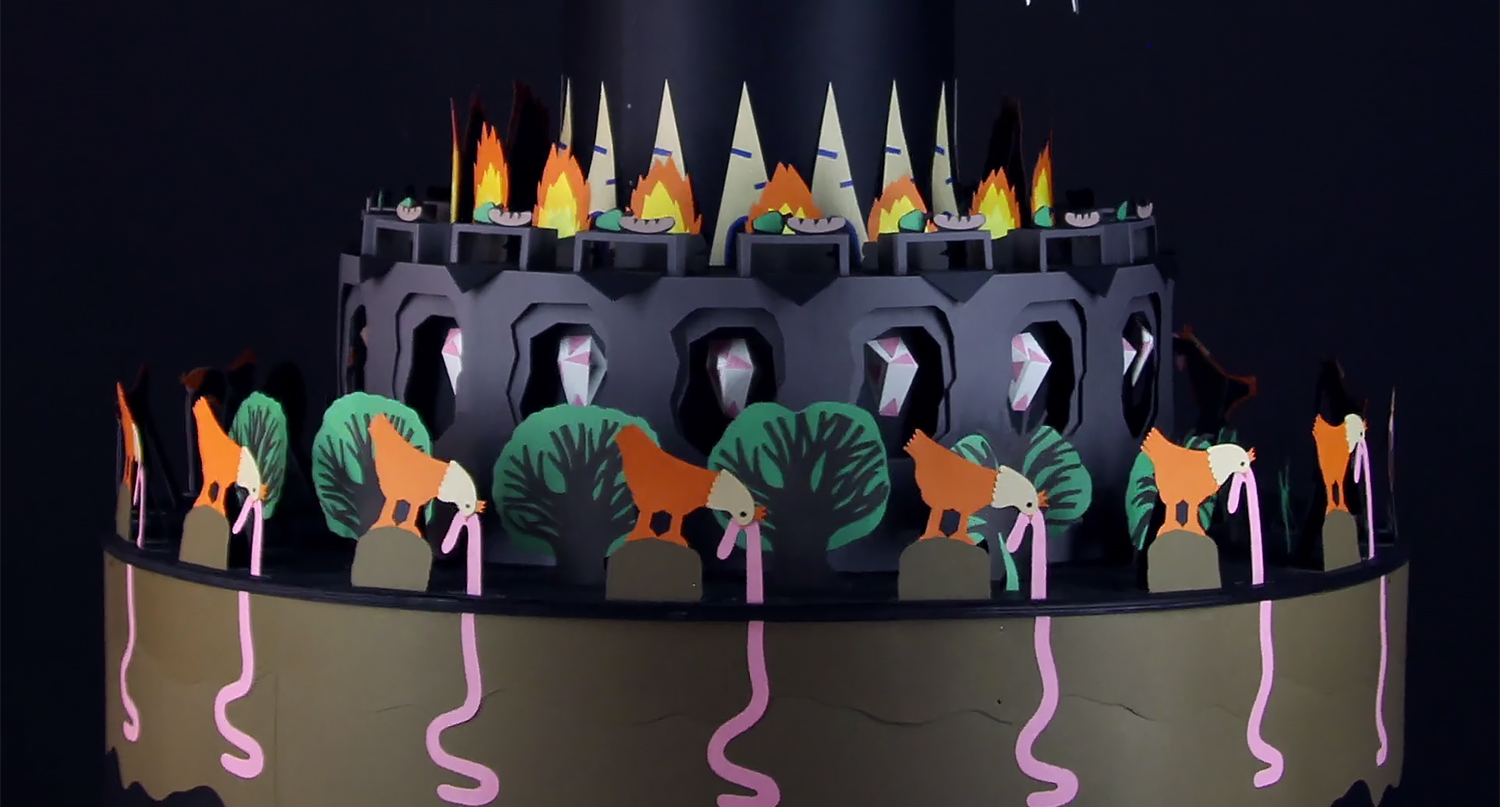 The Beauty of Life Shown Through a Paper Zoetrope by Ové Pictures