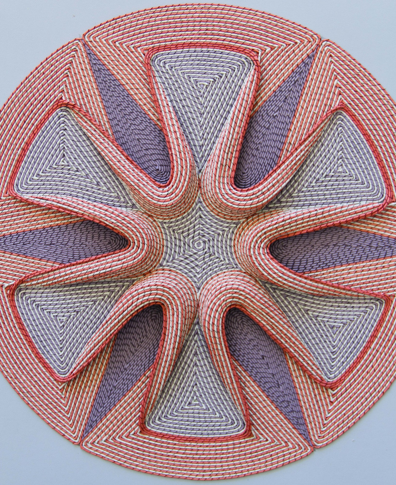 New Intricate Curled Paper Tapestries by Gunjan Aylawadi - Blossom
