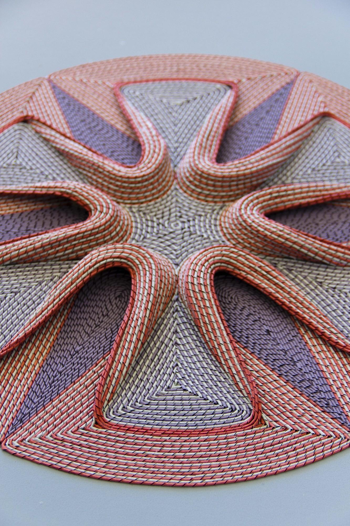 New Intricate Curled Paper Tapestries by Gunjan Aylawadi - Blossom