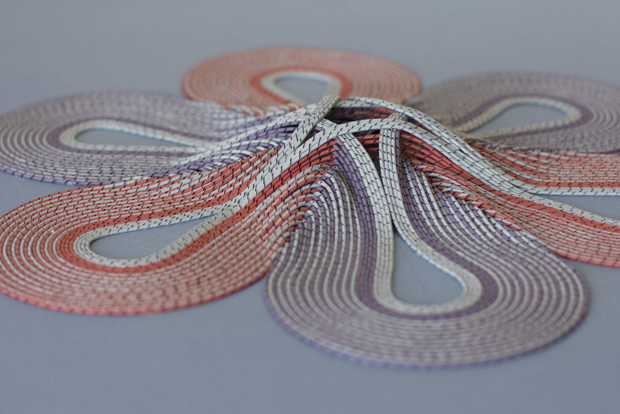 New Intricate Curled Paper Tapestries by Gunjan Aylawadi - Braid