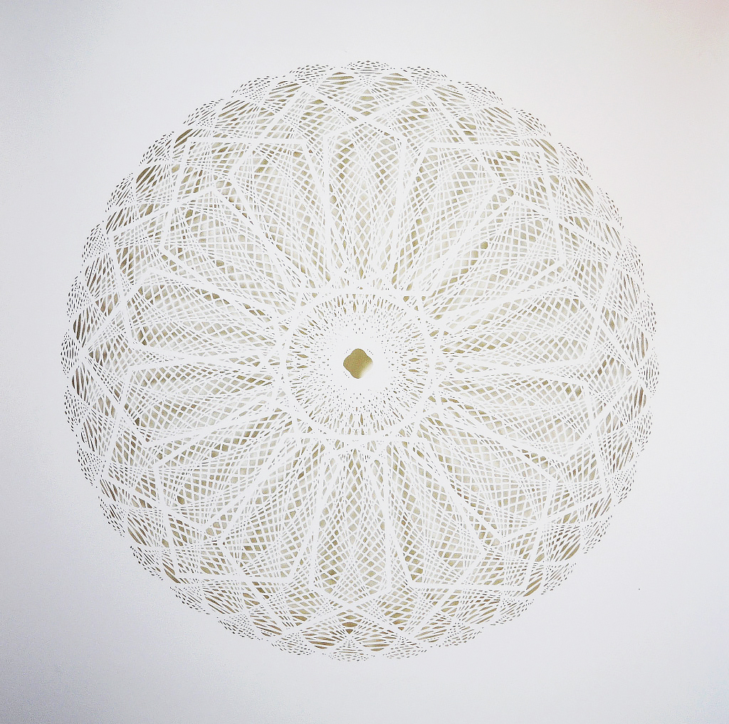New Intricate Geometrical Papercut Masterpieces by Tahiti Pehrson - Diachrony