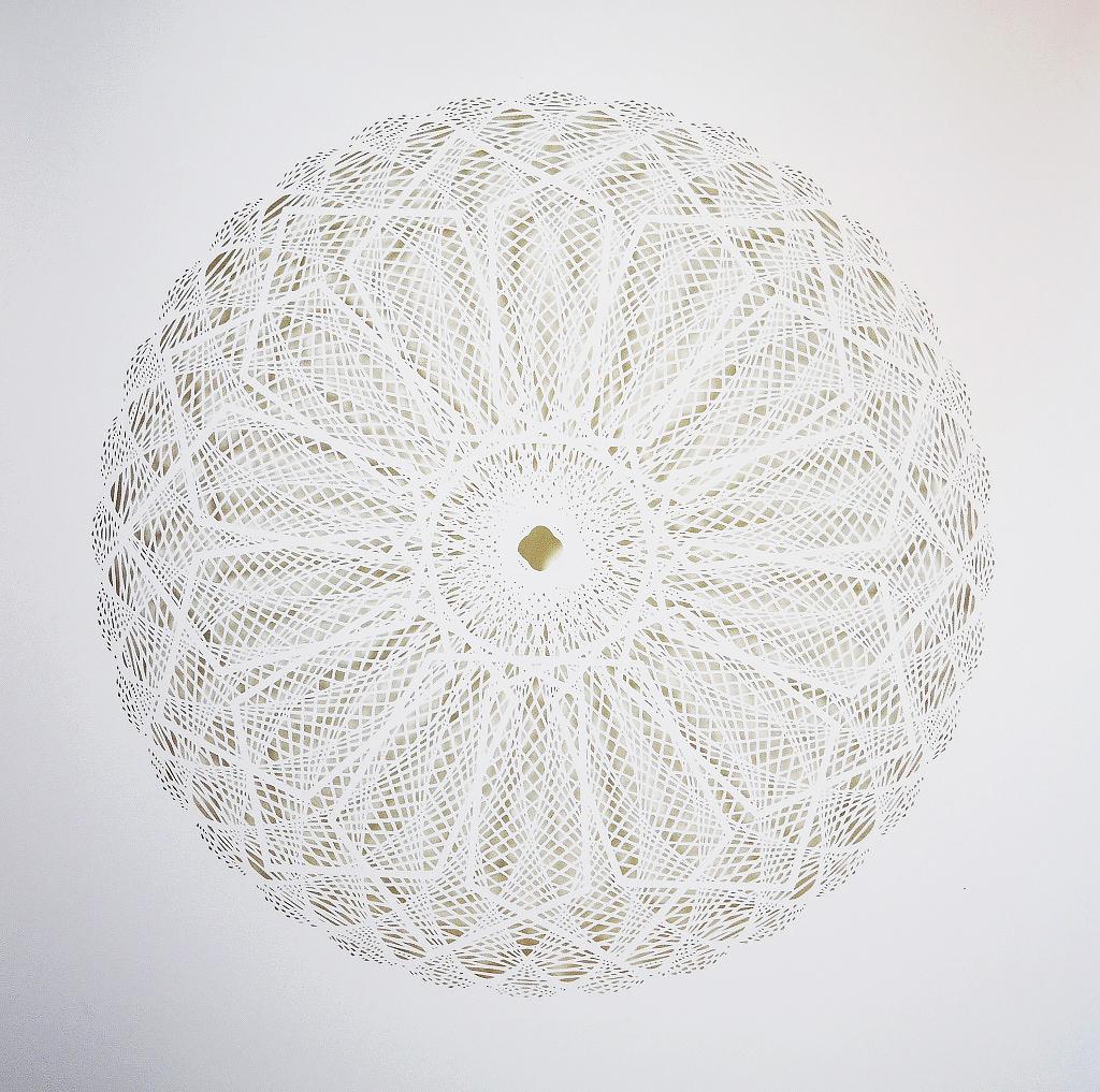 New Intricate Geometrical Papercut Masterpieces by Tahiti Pehrson - Diachrony