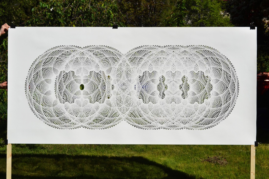 New Intricate Geometrical Papercut Masterpieces by Tahiti Pehrson