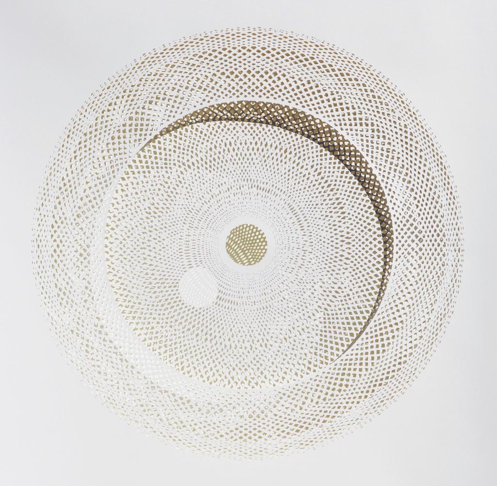 New Intricate Geometrical Papercut Masterpieces by Tahiti Pehrson