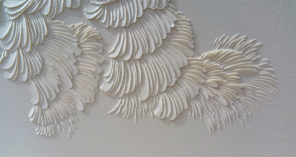 Interview with Domitilla Biondi, Carved Paper Poetry Artist - Rumi Remixed