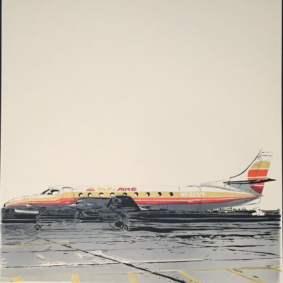 Thomas Witte Creates Hyperrealistic Cut Paper Illustrations Based On Photographs - Plane