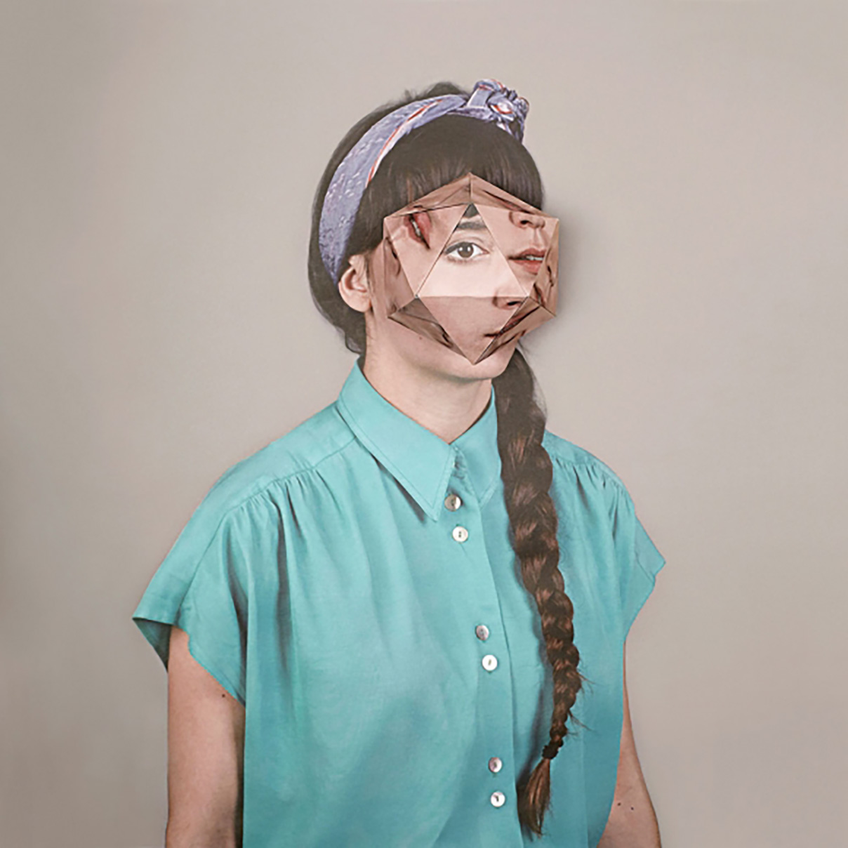Cosmic Surgery: Origami Portraits by Alma Haser
