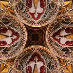 Eric Standley  Intricate Stained Glass Windows from Colorful Laser Cut Paper (Video) - Argos Detail