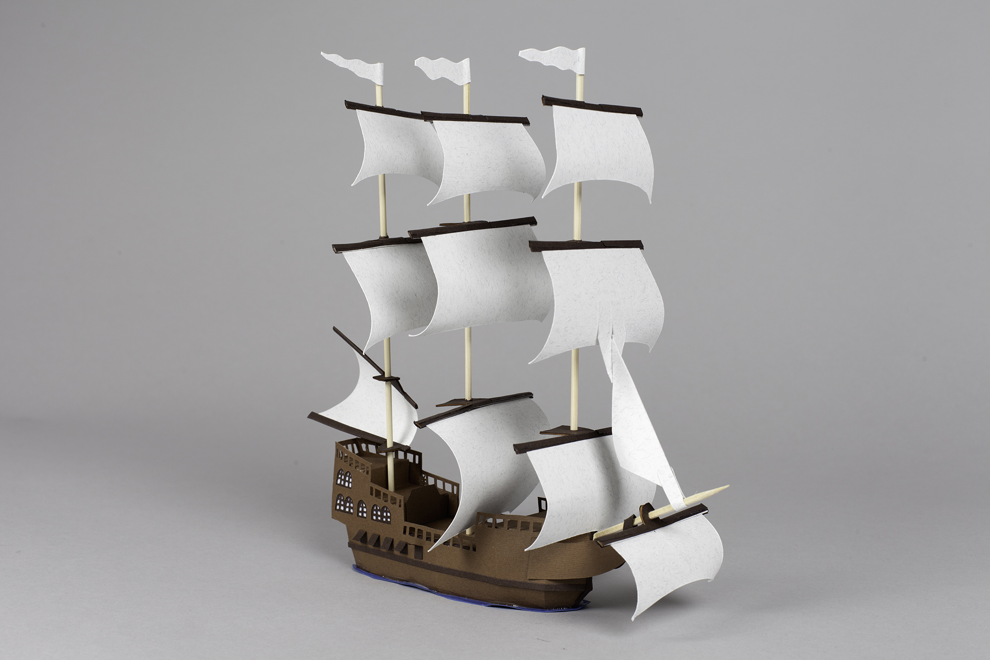 3D Letters for Silk Road Film Festival Crafted From Paper - Europe Ship