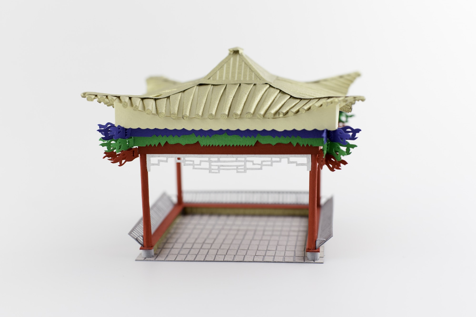 3D Letters for Silk Road Film Festival Crafted From Paper - China Pavillion
