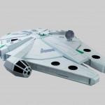 The Paper Strikes Back, Paper Craft Millennium Falcon by Oupas Design