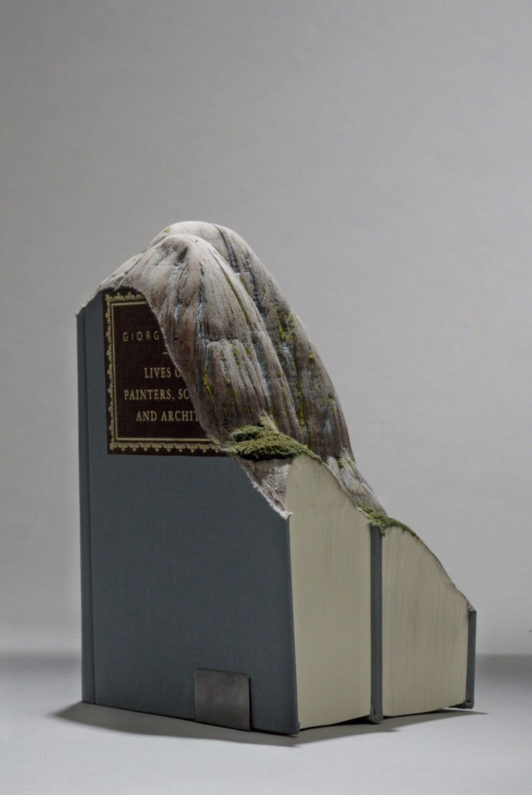 Guy Laramee Creates Hyperrealistic Topographic Landscapes Carved into Old Books - Brasil