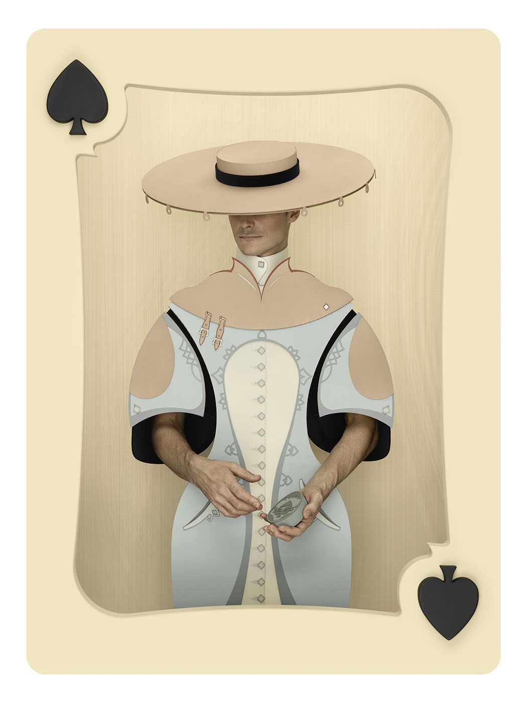 Christian Tagliavini Transforms Deck of Playing Cards into Life Sized Works of Art