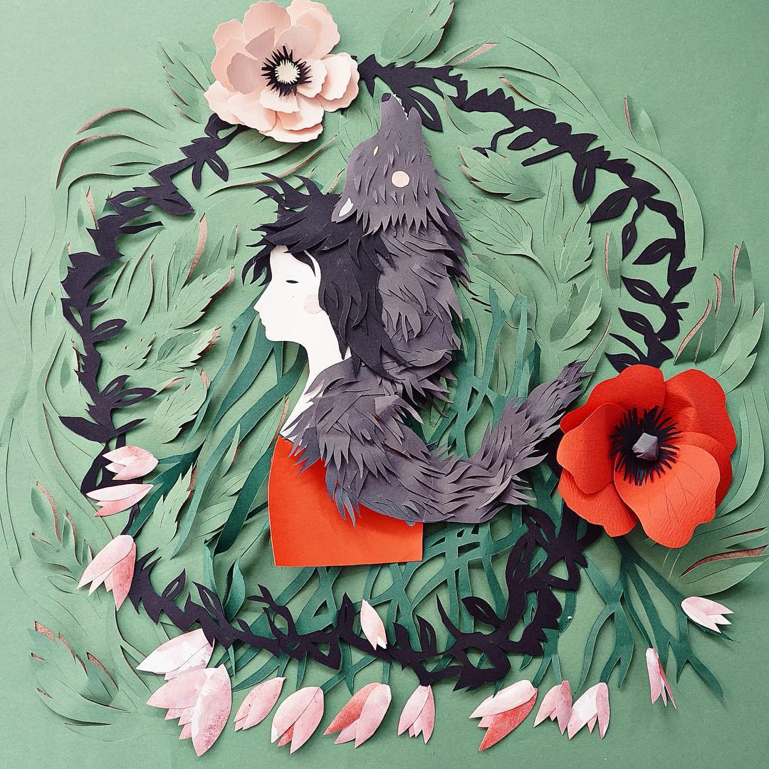 Interview with Cut Paper Artist Eugenia Zoloto