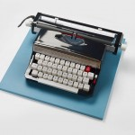 Realistic Paper Sculptures That Play With Scale by Mikako Azakami - Black Typewriter