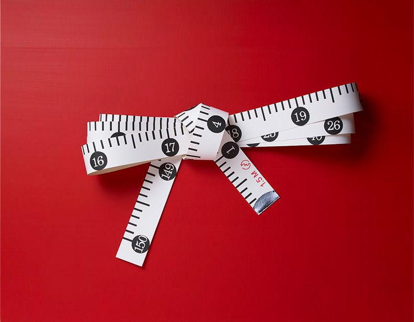 Realistic Paper Sculptures That Play With Scale by Mikako Azakami - Tape Measurer