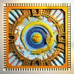Marcelo Kato Creates Colorful Mediterranean Sea Inspired Cut Paper Illustrations - Golden Dragon
