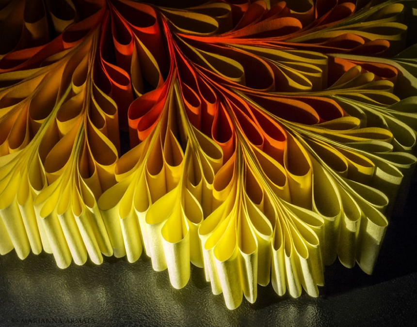 Post-It Notes Captured On a Macro Scale to Create Stunning Abstract Photographs