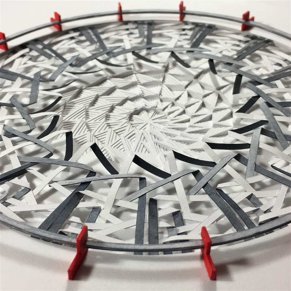 Beautiful Paper Reliefs That Form Intricate Mandalas by Jacky Cheng