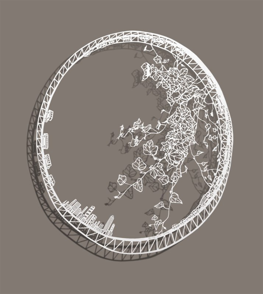New Intricate Miniature Worlds in Cut Paper by Bovey Lee - Vine Jumper