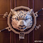 Snow Leopard Meets Biker In This Personified Cardboard Mashup by Boris Klimov