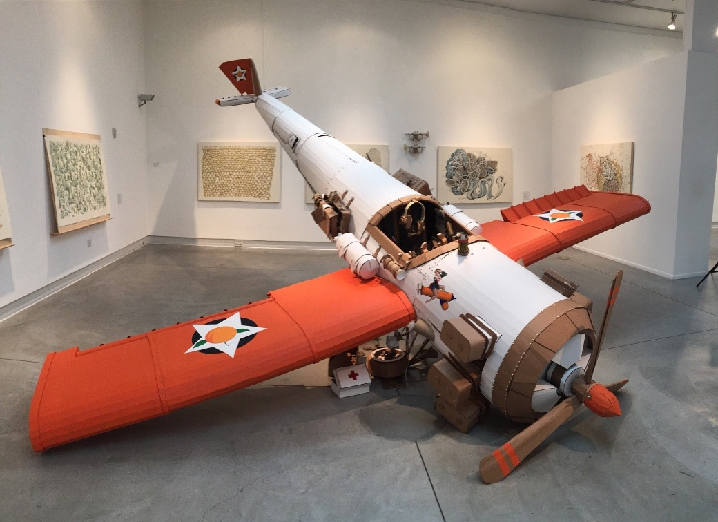 Kiel Johnson Reaches New Heights with Cardboard Aircraft