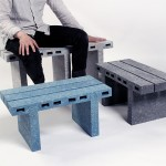 Woojai Lee Transforms Recycled Paper into Brick-Like Furniture - PaperBricks