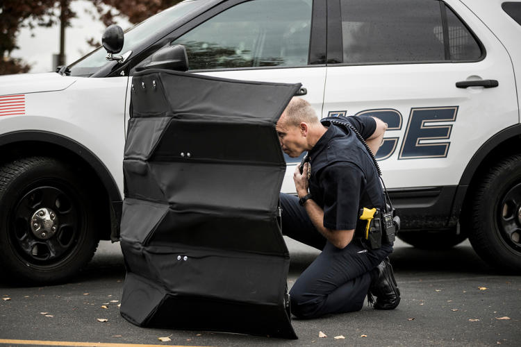 Origami Bulletproof Shield For Police [Video]
