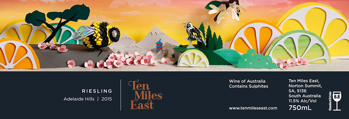 Interview with Paper Artist Sam Pierpoint - Ten Miles East Reisling