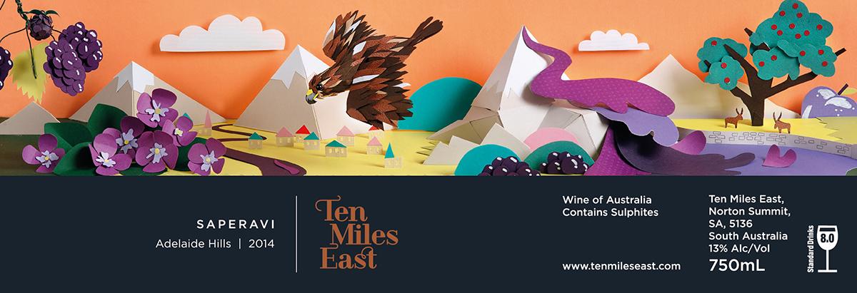 Interview with Paper Artist Sam Pierpoint - Ten Miles East Saperavi