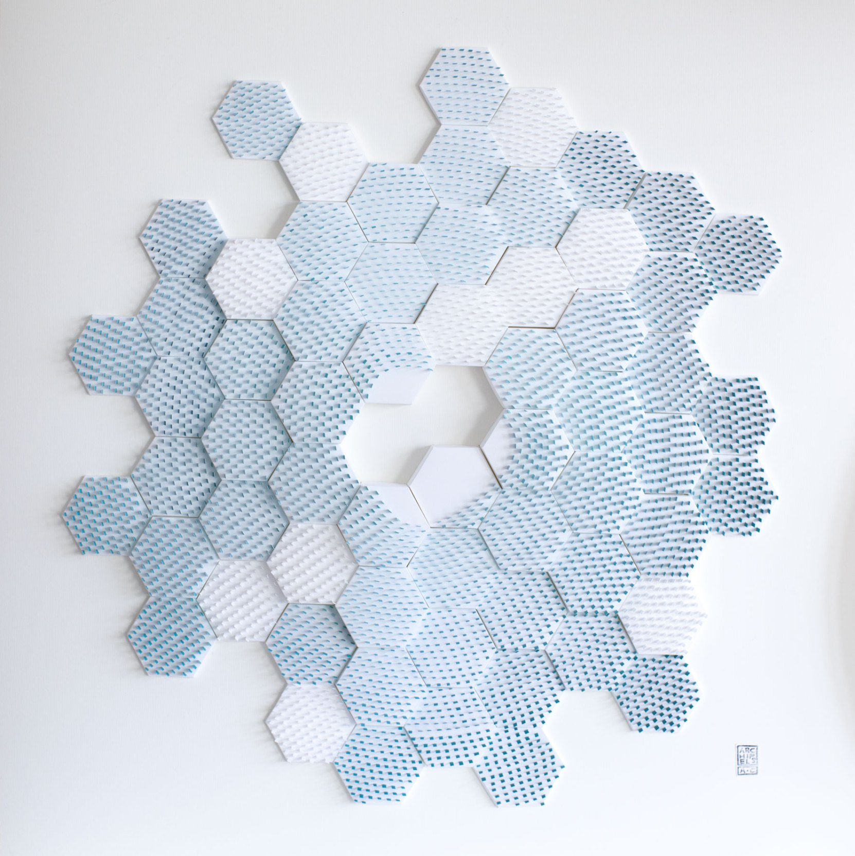 Minimal Kinetic Landscapes in Paper by Agnès Cappadoro