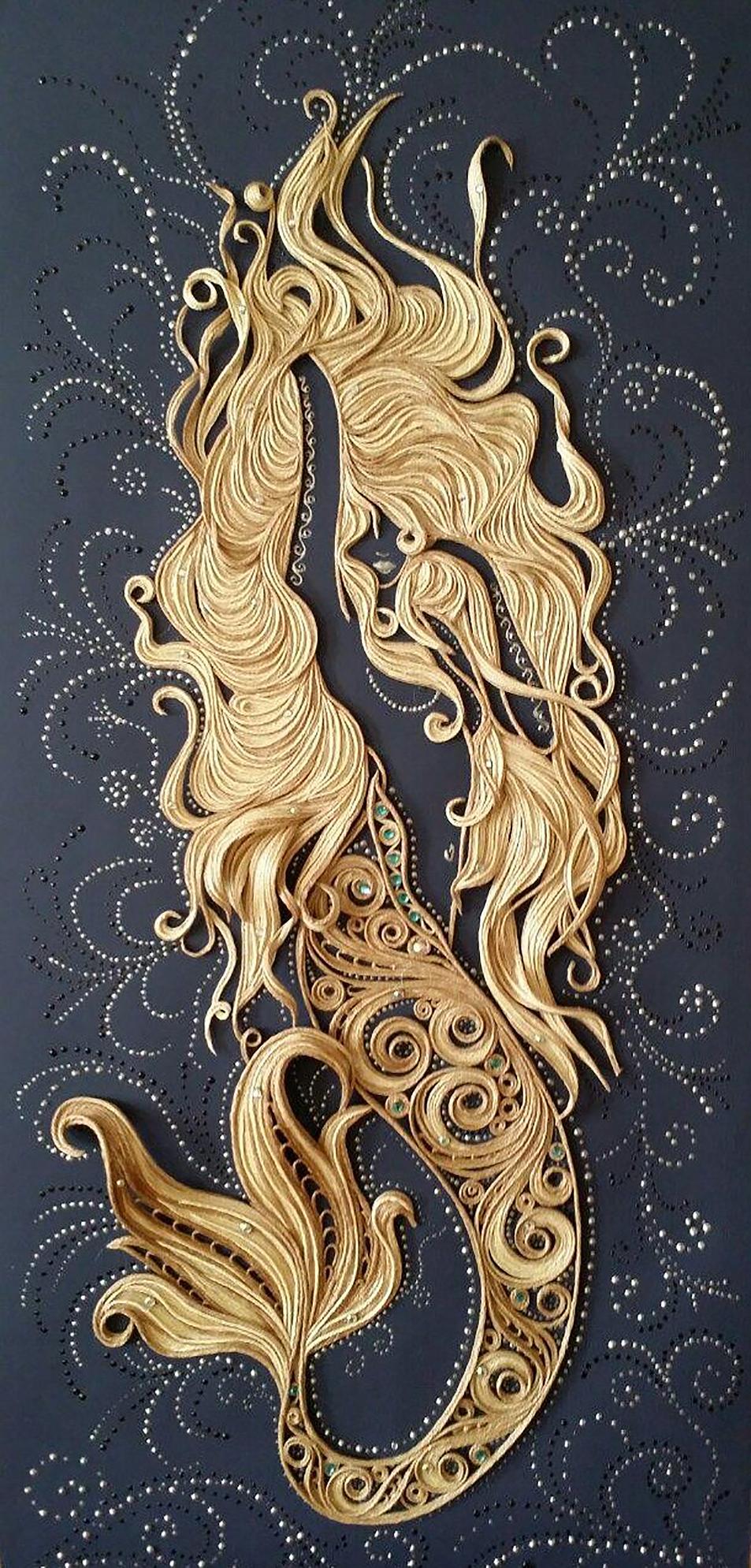 Iriška Sergeeva Quilled Paper Art