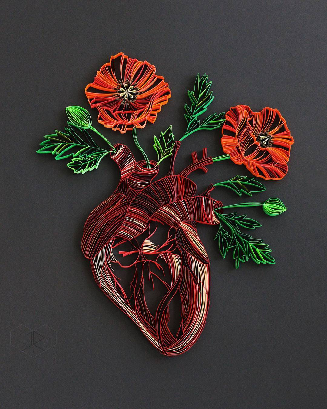 Judith+Rolfe Quilled Paper Art