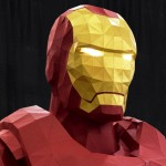 Life-sized Iron Man Papercraft by Owen Gildersleeve