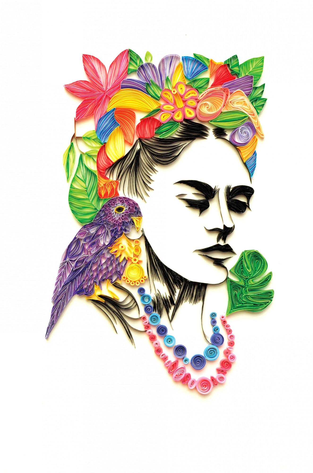 Tamsyn Gutierrez Quilled Paper Art